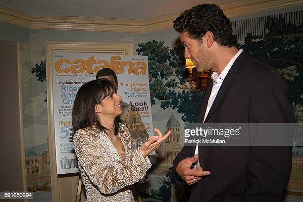 Cathy Areu and Eduardo Xol attend Catalina Magazine and The Heart Truth Campaign Third Annual Essence of Latinas Event in New York at The Carlyle...