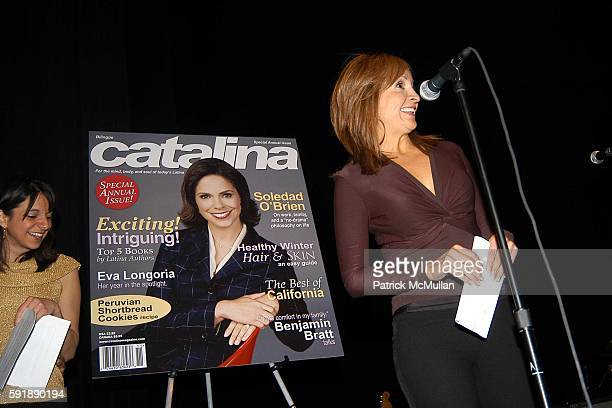 Cathy Areu and Leslie Sanchez attend Groundbreaking Latina in Leadership Awards at Hudson Theatre on October 11 2005 in New York City