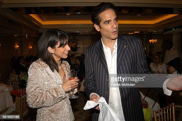 Cathy Areu and Yul Vazquez attend Catalina Magazine and The Heart Truth Campaign Third Annual Essence of Latinas Event in New York at The Carlyle...