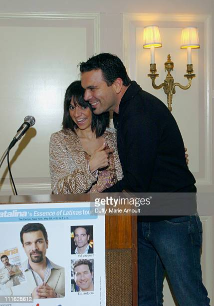 Cathy Areu Catalina Magazine publisher and Ricardo Antonio Chavira of Deperate Houswives