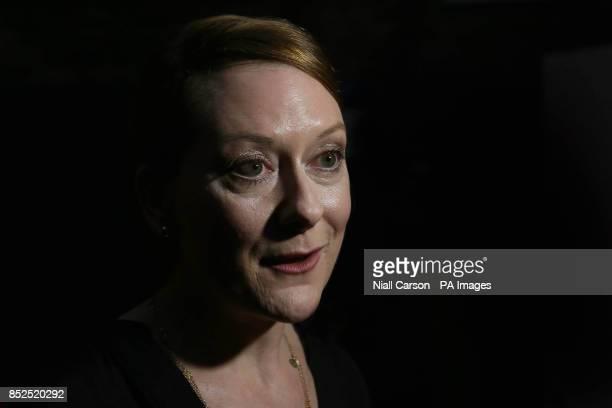 Cathy Belton attends the screening of the film Philomena at the Irish Film Institute Dublin