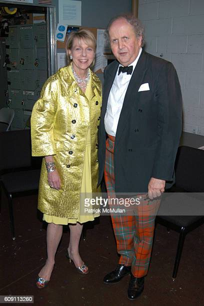 Cathy Black and Alexander McCall Smith attend 'AN EVENING OF READINGS' at LITERACY PARTNERS' Annual Gala Honoring Arnold Scaasi Liz Smith Parker Ladd...