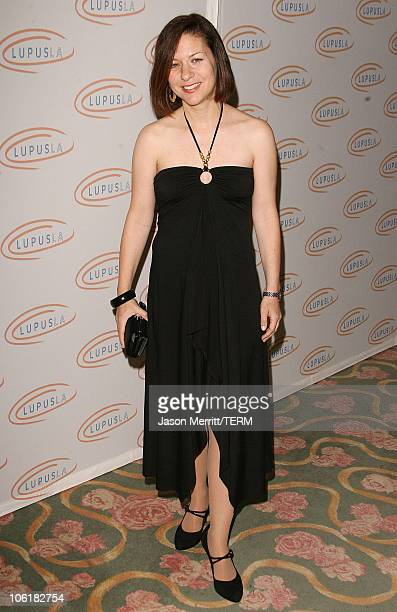 Cathy Cahlin Ryan during Love Light and Laughter to Lupus LA at Beverly Hills Hotel in Beverly Hills California United States