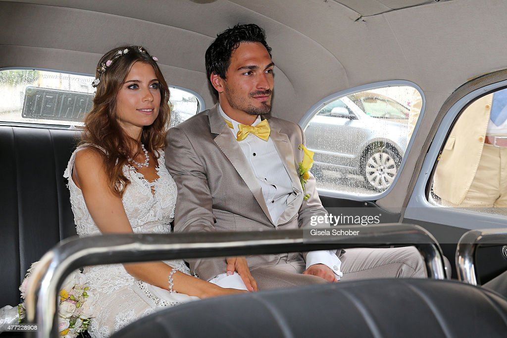 Wedding Of Mats Hummels And Cathy Fischer