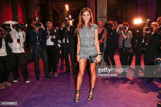 Cathy Fischer attends the Douglas At Duftstars 2015 on May 07, 2015 in Berlin, Germany.