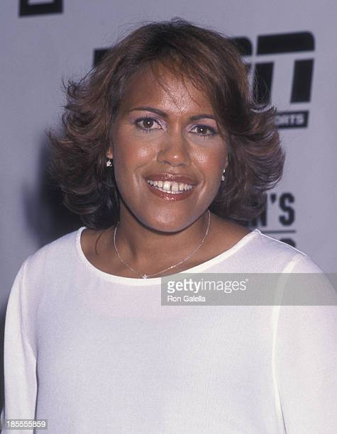 Cathy Freeman attends Women's Sports Foundation Awards on October 15 2001 at the Waldorf Astoria Hotel in New York City