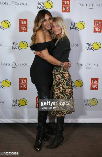 Cathy Getta and Isabelle Camus attend the gala for 'Fete le mur' an association founded by Yannick Noah to promote tennis in the projects during day...