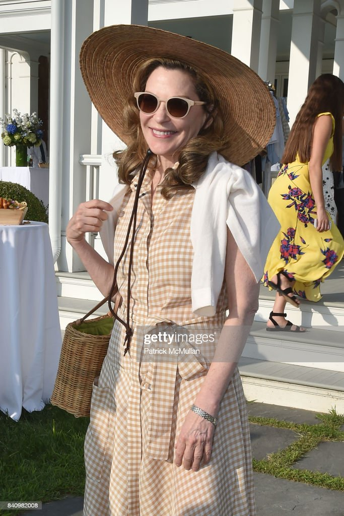 Cathy Graham attends Anne Hearst McInerney and Jay McInerney's celebration of Amanda Hearst and Hassan Pierre's Maison de Mode at a Private Residence on August 26, 2017 in Water Mill, New York.