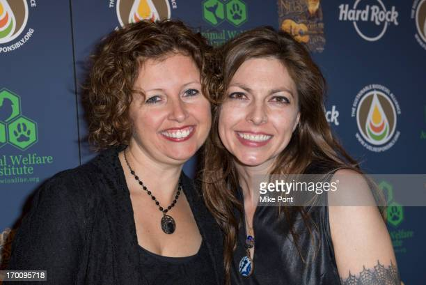 Cathy Guthrie and Amy Nelson attend Hard Rock International's Wille Nelson Artist Spotlight Benefit Concert at Hard Rock Cafe Times Square on June 6...