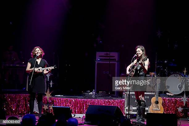 Cathy Guthrie and Amy Nelson perform in concert at ACL Live on December 31 2015 in Austin Texas