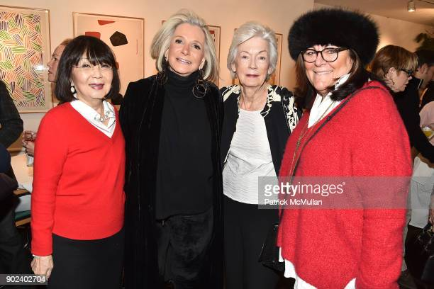 Cathy Hardwick Sheila Nevins Nancy Newhouse and Fern Mallis attend Joan Kron's 90th Birthday 'Take My NosePlease' Release Party at Michael's on...