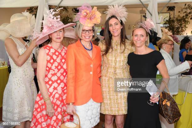 Cathy Herbst Kim Wentworth Meghan Wentworth and Katie Machir attend 36th Annual Frederick Law Olmsted Awards Luncheon Central Park Conservancy at The...