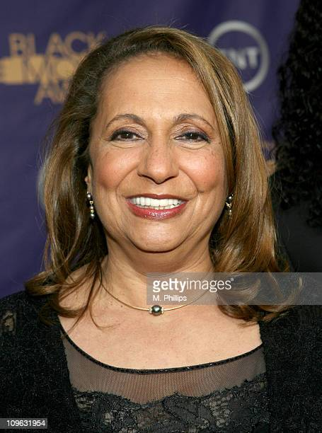 Cathy Hughes 12556_MP_0051JPG during 2006 TNT Black Movie Awards Red Carpet at Wiltern Theatre in Los Angelses California United States