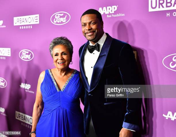Cathy Hughes and Chris Tucker attend 2019 Urban One Honors at MGM National Harbor on December 05 2019 in Oxon Hill Maryland