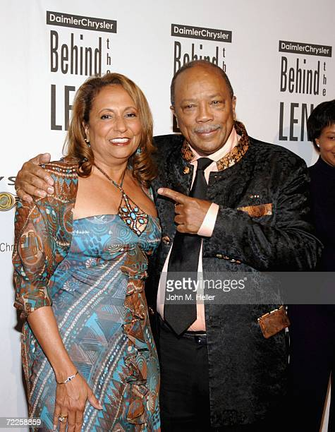 Cathy Hughes and Quincy Jones attend the 5th Annual Behind the Lens Award Honoring Quincy Jones at the Beverly Hilton Hotel on October 24 2006 in...