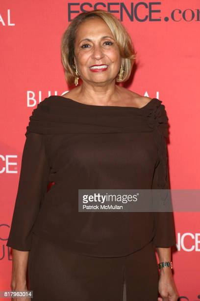 Cathy Hughes attends ESSENCE MAGAZINE 40th Anniversary of FIERCE AND FABULOUS Awards Luncheon at Mandarin Oriental on September 13 2010 in New York...
