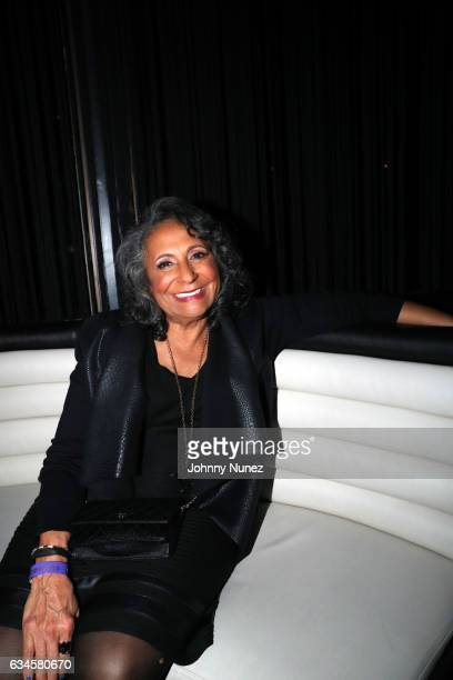 Cathy Hughes attends the Annual PreGrammy Reception hosted by Ted Reid at STK on February 9 2017 in Los Angeles California