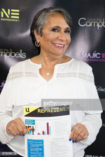 Cathy Hughes attends 'We're The Campbells' Live Watch Party and QA at City of Praise Family Ministries on June 19 2018 in Largo Maryland