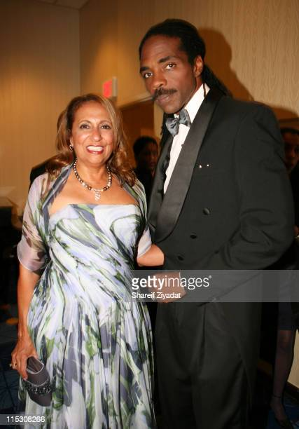 Cathy Hughes Chairman of Radio One and guest during Radio One's 25th Anniversary Awards Dinner Gala at JW Marriot in Washington DC United States