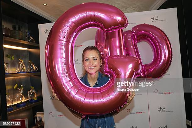 Cathy Hummels attends the ghd Life Pink Charity Lunch on June 8 2016 in Munich Germany