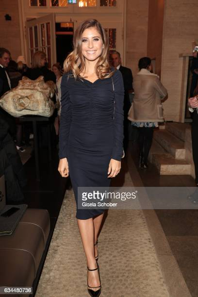 Cathy Hummels during the Berlin Opening Night by GALA and UFA Fiction at hotel 'The Stue' on February 9 2017 in Berlin Germany