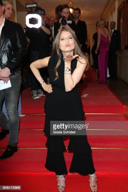 Cathy Hummels during the Gala Spa Awards at Brenners ParkHotel Spa on April 14 2018 in BadenBaden Germany