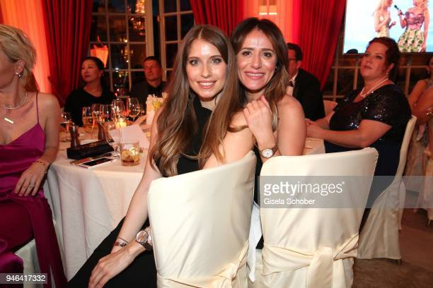 Cathy Hummels Elizabeta Zefi during the Gala Spa Awards at Brenners ParkHotel Spa on April 14 2018 in BadenBaden Germany
