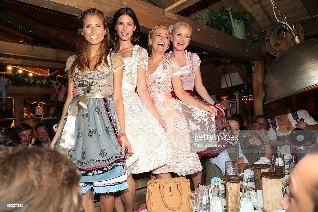Celebrities At Oktoberfest 2015 - Day 1 : Foto jornalística