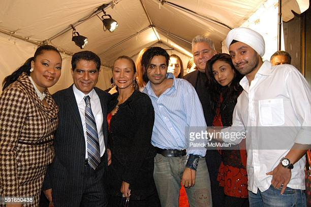 Cathy Johnson Deepak Chopra Frida Payne Anand Jon Robert Stiglich Sanjana Jon and Vikram Chatwal attend Launch of the first East Coast Chopra Center...