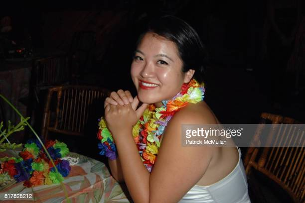 """Cathy Kim-Howe attends HEARST CASTLE PRESERVATION FOUNDATION 2010 """"Beach Boy Blast"""" at Hearst Dairy on October 9, 2010 in San Simeon, California."""