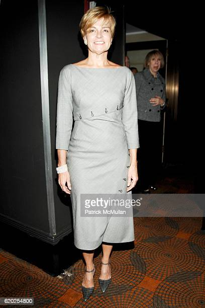Cathy Lacey Hoge attends THE WEEK and SIR HAROLD EVANS Present The Media The Presidency at Rainbow Room on November 10 2008 in New York City