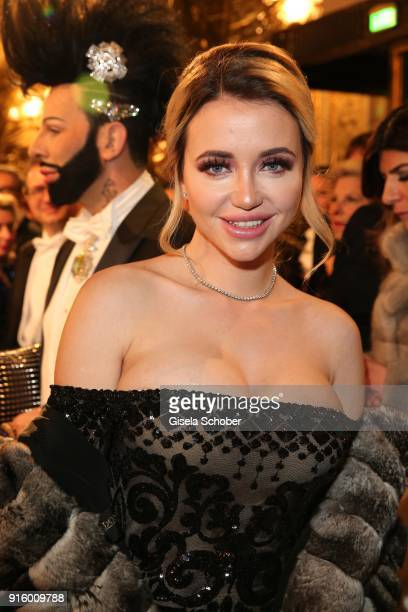 Cathy Lugner exwife of Richard Lugner during the Opera Ball Vienna at Vienna State Opera on February 8 2018 in Vienna Austria