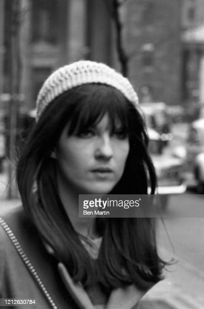 Cathy McGowan British broadcaster and journalist in London April 3 1966