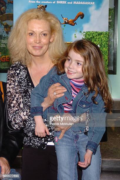 Cathy Moriarty and Annabella Rose Gentile attend Over the Hedge Premiere at Chelsea West Theatre on May 16 2006 in New York City