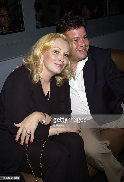 Cathy Moriarty and husband during City By The Sea Premiere AfterParty at SPA at SPA in New York City New York United States