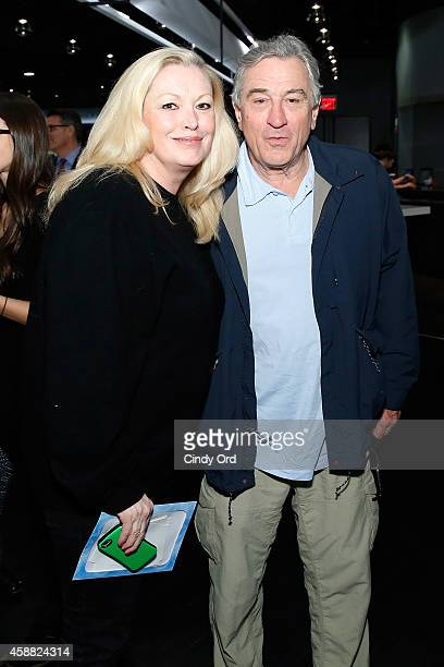 Cathy Moriarty and Robert De Niro attend Disney On Ice presents Frozen at Barclays Center on November 11 2014 in New York City