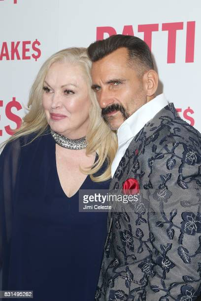 Cathy Moriarty and Wass Stevens attend the New York premiere of 'Patti Cake$' at Metrograph on August 14 2017 in New York City