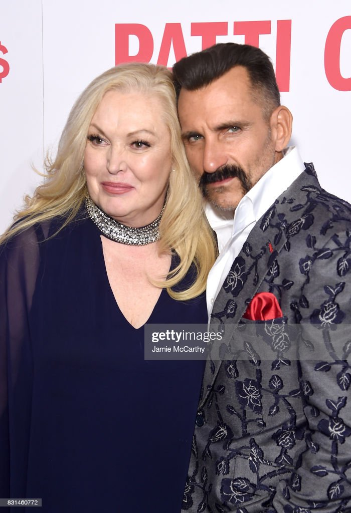 Cathy Moriarty and Wass Stevens attend the 'Patti Cake$' New York Premiere at The Metrograph on August 14, 2017 in New York City.