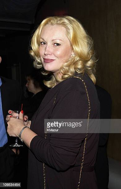 Cathy Moriarty during City By The Sea Premiere AfterParty at SPA at SPA in New York City New York United States