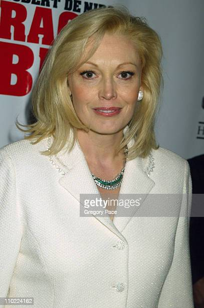 Cathy Moriarty during Raging Bull 25th Anniversary and Collector's Edition DVD Release Celebration Inside Arrivals at Ziegfeld Theater in New York...