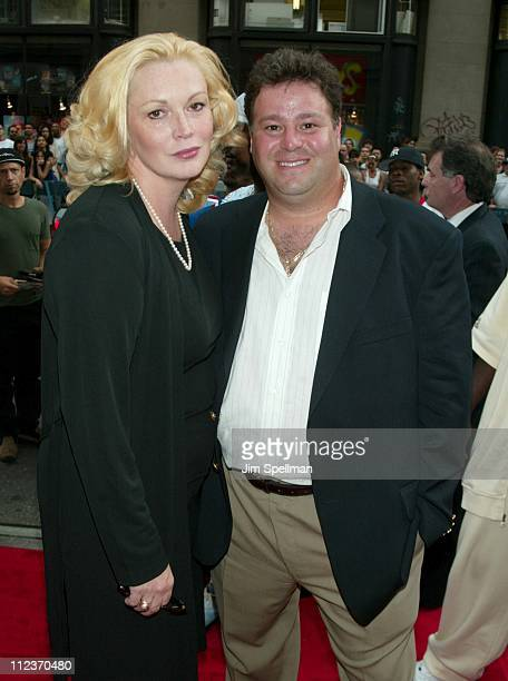 Cathy Moriarty husband Joseph Gentile during City By The Sea Premiere New York at Union Square Theatre in New York City New York United States