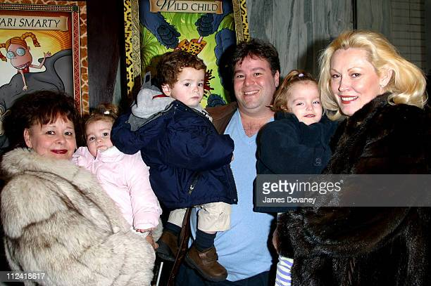 Cathy MoriartyGentile and family during The Wild Thornberrys Movie Premiere at The Clearview Beekman Theater in New York City New York United States