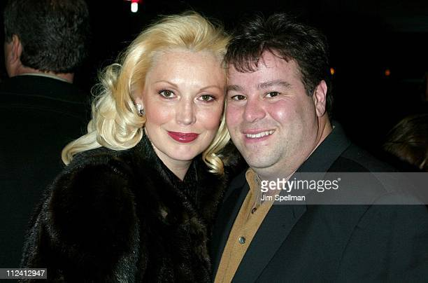 Cathy MoriartyGentile husband Joseph Gentile during Analyze That World Premiere Arrivals at The Ziegfeld Theatre in New York City New York United...