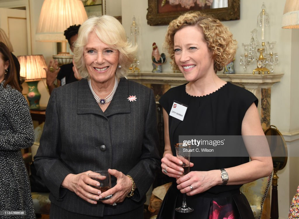 GBR: The Duchess Of Cornwall Hosts A Reception For 'WOW - Women Of The World Festival'