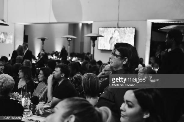 Cathy Opie and guests attend the Hammer Museum 16th Annual Gala in the Garden with generous support from South Coast Plaza at the Hammer Museum on...