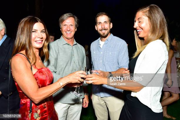 Cathy Quinn Tim Zietare Bryan LeBoeuf and Jenna Payne attend Peebles Corporation And RollsRoyce Saddle Up With Georgina Bloomberg Give Back For...