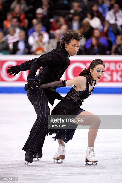 Cathy Reed and Chris Reed of Japan compete in the Free Dance during the 2009 ISU World Figure Skating Championships on March 27, 2009 at Staples...