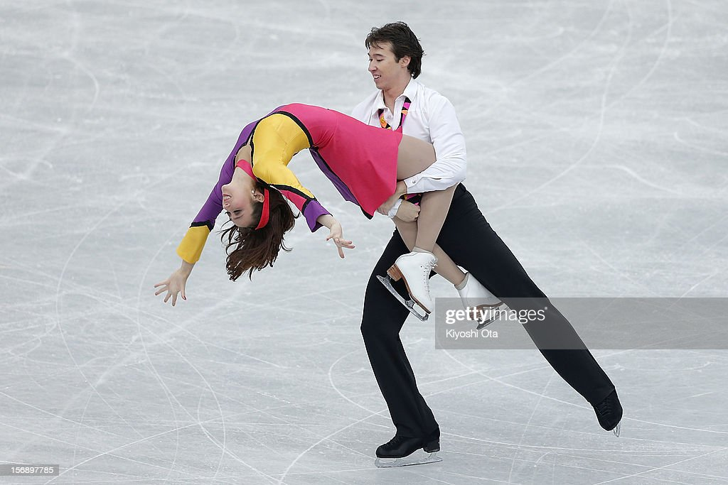 Cathy Reed and Chris Reed of Japan compete in the Ice Dance Free Dance during day two of the ISU Grand Prix of Figure Skating NHK Trophy at Sekisui Heim Super Arena on November 24, 2012 in Rifu, Japan.