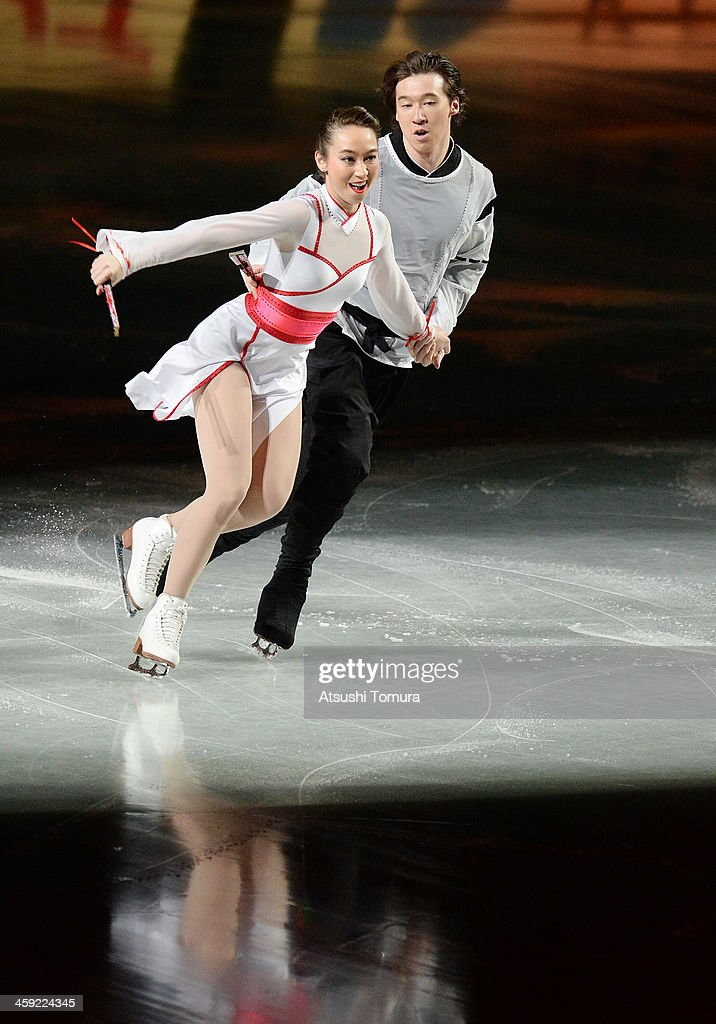 Cathy Reed and Chris Reed of Japan perform their routine in the Gala exhibition during All Japan Figure Skating Championships at Saitama Super Arena on December 24, 2013 in Saitama, Japan.