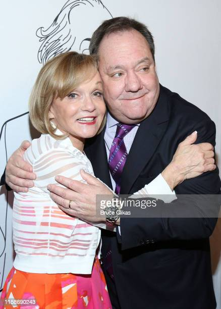 Cathy Rigby and James Nederlander Jr pose at the official After Party for The 2019 Jimmy Awards at Planet Hollywood Times Square on June 24 2019 in...